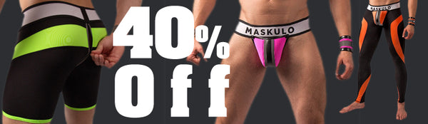 All Maskulo Neon Green, Orange, and Pink 40% Off