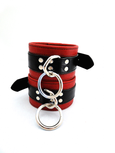 LEATHER ANKLE RESTRAINT IN COLOR