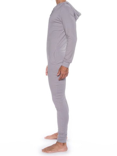 GO SOFTWEAR MODERNE HOODED UNION SUIT