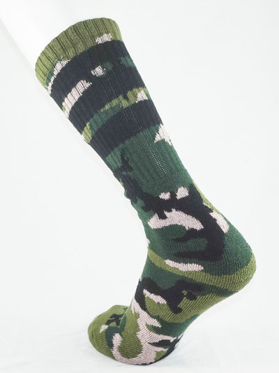 FK SPORT CAMO HIGH CALF TUBE SOCK