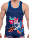 SKULL AND BONES DRAGON TANK