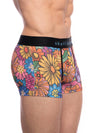 SKULL AND BONES GROOVY FLORAL TRUNK