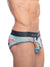 SKULL AND BONES HAND-PAINTED KOI BRIEF