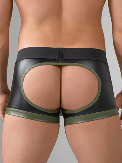 MASKULO ENFORCE SHOT BELT TRUNK, OPEN BACK