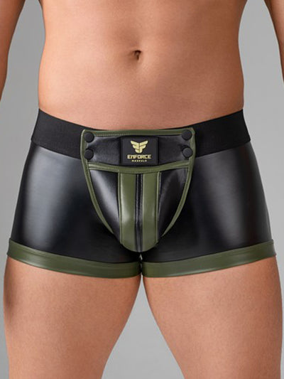 MASKULO ENFORCE WAIST-HIGH TRUNK, OPEN BACK