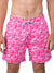 VINTAGE SUMMER PINK FLAMINGO SWIM SHORTS