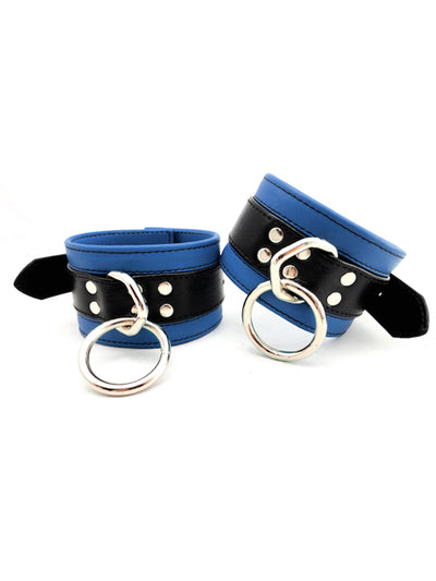 LEATHER WRIST RESTRAINTS IN COLORS