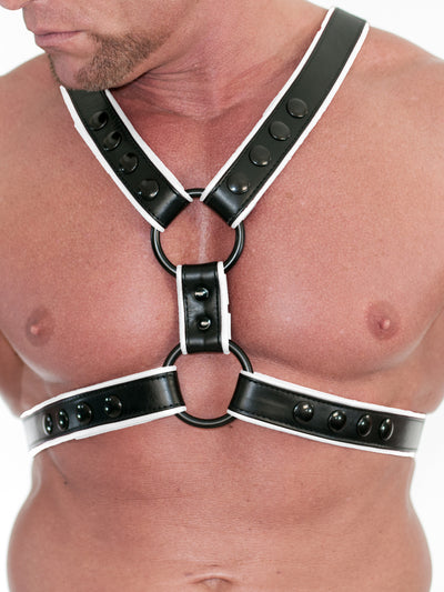 FLAGGING FOUR-POINT TORSO HARNESS