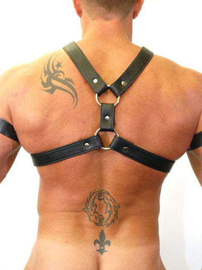 LEATHER HALF HARNESS