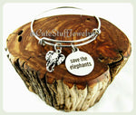 Save the Elephants Bracelet, Save the Elephants Bangle