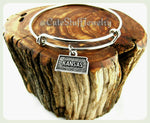 State of Kansas Bracelet, State of Kansas Bangle