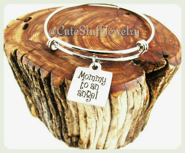 Mommy to an Angel Bracelet, Mommy to an Angel Bangle