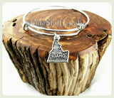 Idaho State Bracelet, State of Idaho Bangle