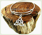 Triad Knot Bracelet, Triad Bangle