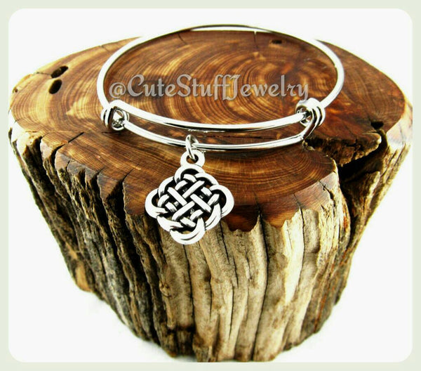 Celtic Knot Bracelet, Celtic Knot Bangle