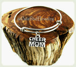 Cheer Mom Bracelet, Cheer Mom Bangle