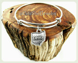 State of Ohio Bracelet, State of Ohio Bangle