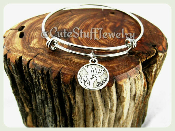 Family Sister Bracelet, Silver Sister Bangle, Adjustable Bangle, Family Charm Bracelet, Handmade Sister Jewelry, Families Gift, Boho