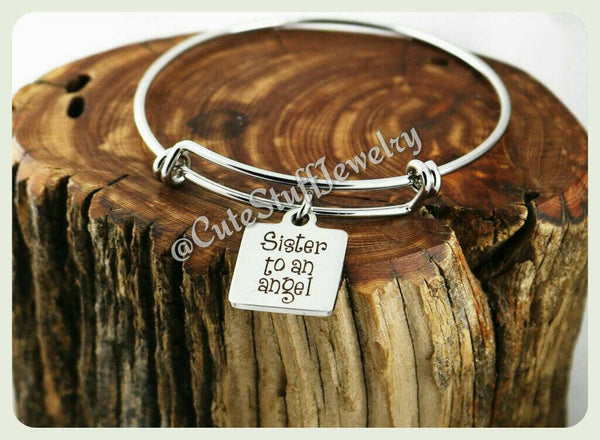 Sister to an Angel Bracelet, Sisters Angel Bangle