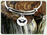 Angel Wings bracelet, Guardian Angel Bangle, Angel by your side, Handmade Inspirational Jewelry, Guardian Angel Jewelry, Angel Wings Gift