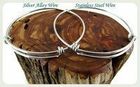 Storms make trees take deeper roots Bracelet, Stronger Than the Storm Bangle, Handmade Inspirational Jewelry, Strong Jewelry