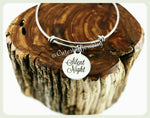 Silent Night Bracelet, Silent Night Bangle