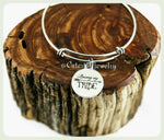 Raising My Tribe Bracelet, Tribe Bangle
