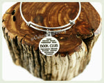 Student Book Club Bracelet, Book Club Bangle, Handmade Book Club Jewelry, Book Club Gift, Student Book Clubs, Student Book group, Students