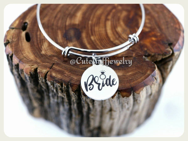 Bride Bracelet, Bride Bangle, Bridal Party, Handmade Bride Jewelry, Bridal Gift, Bridal Jewelry, Bridal Bracelet, Bachelorette Party