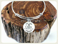 May your coffee be stronger than your students  Bracelet