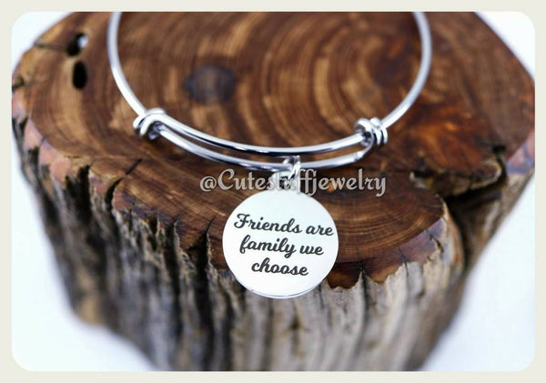 Friends Are the Family We Choose Bracelet