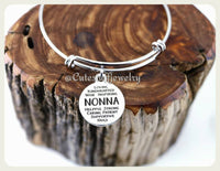 Inspirational Nonna bracelet, Nonna Bangle