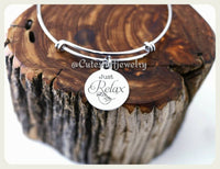 Just Relax Sloth Bracelet, Baby Sloth Bangle