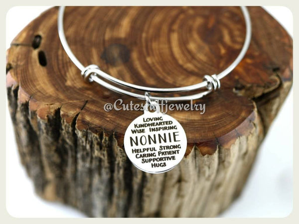 Inspirational Nonnie bracelet, Nonnie Bangle