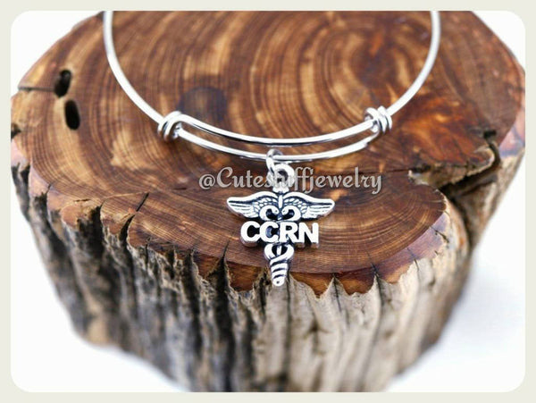 Critical Care Registered Nurse Bracelet, Critical Care Registered Nurse Bangle