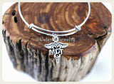 Medical Lab Tech Bracelet, Medical Lab Technician Bangle