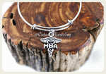 Home Health Aide Bracelet, HHA Bangle