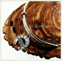 Lucky Horseshoe Bracelet, Good Luck Charm Bracelet, Lucky Horseshoe Bangle, Good Luck Bangle, Handmade Lucky Bracelet, Lucky Bangle