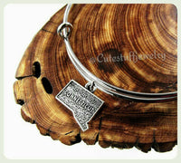 Handmade Connecticut Bracelet, State of Connecticut Bracelet, State of Connecticut Bangle, CT Bangle, New England Jewelry, State Jewelry