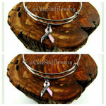 Breast Cancer Fighter Bracelet, Breast Cancer Survivor Bracelet