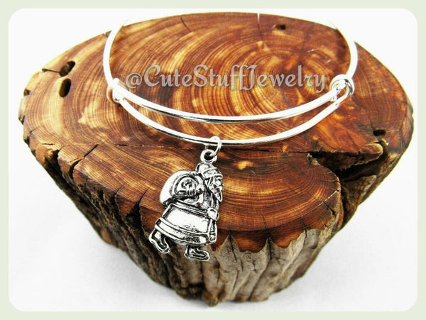 Christmas Santa Bracelet, ChristmasSanta Bangle