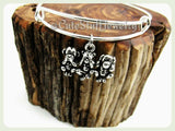 Speak No Evil See No Evil Hear No Evil Bracelet, Speak No Evil See No Evil Hear No Evil Bangle, Monkey Bracelet, Handmade Monkey Jewelry