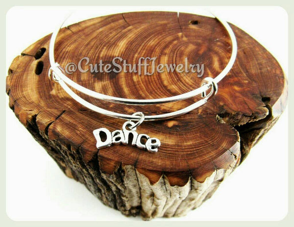 Dance Bracelet, Dance Bangle, Dancer Bracelet, Dancer Bangle, Handmade Dance Jewelry, Dance Team, Dance Coach, Dance Troop, Dancers Gift