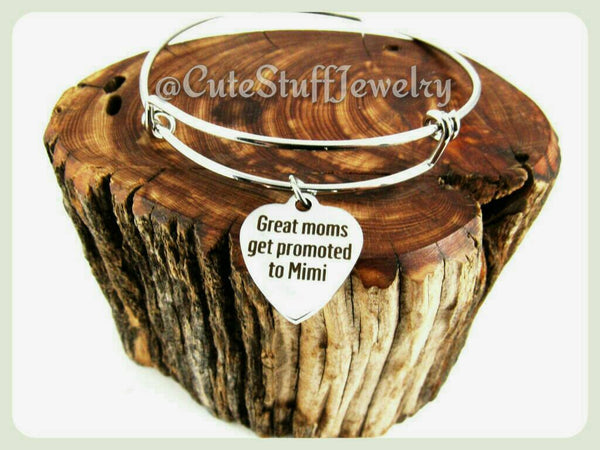 Great Moms Bracelet, Great Mom Bangle