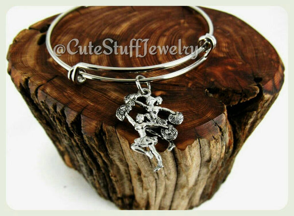 Cheer Cheerleaders Bracelet, Cheer Cheerleaders Bangle
