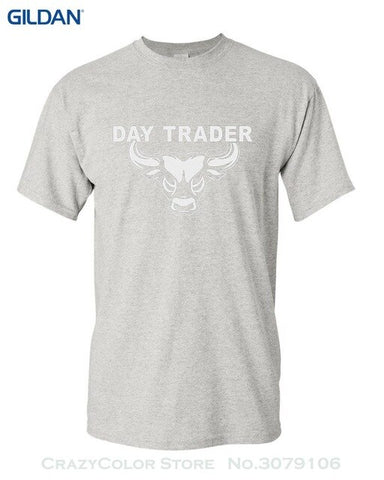 Day Trader T Shirt Wall Street