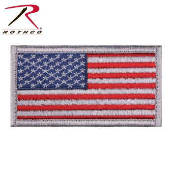 American Flag Patch Options