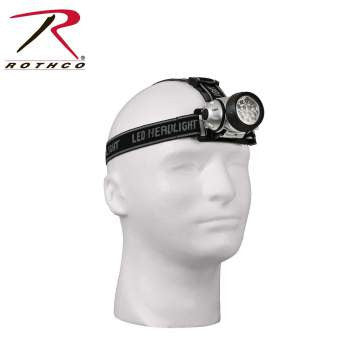 LED Multi-function Color Lens Headlamp