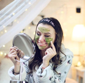 MARK Green tea face mask (per la cura dell'acne)