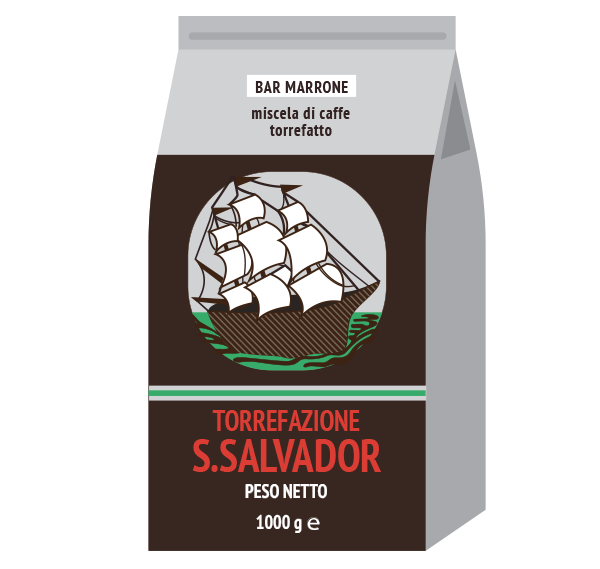 Caffè Bar Marrone 1000g